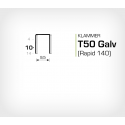 Klammer T50/10 (671-10) - 5000 st / ask