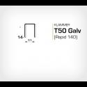 Klammer T50/14 (671-14) - 5000 st / ask