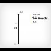 Dyckert 14/30SS Rostfri (SKN 16-30SS)