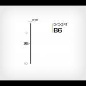 Dyckert B6/25 Stanox - Dyckertverktyg