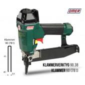 Klammerverktyg 90.38 för klammer 90 och 781