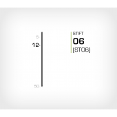Stift 6/12 Stanox - Stiftverktyg